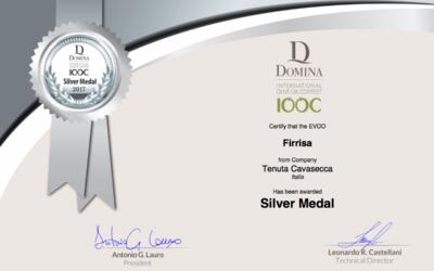 Firrisa vince la Silver Medal al concorso Domina – IOOC