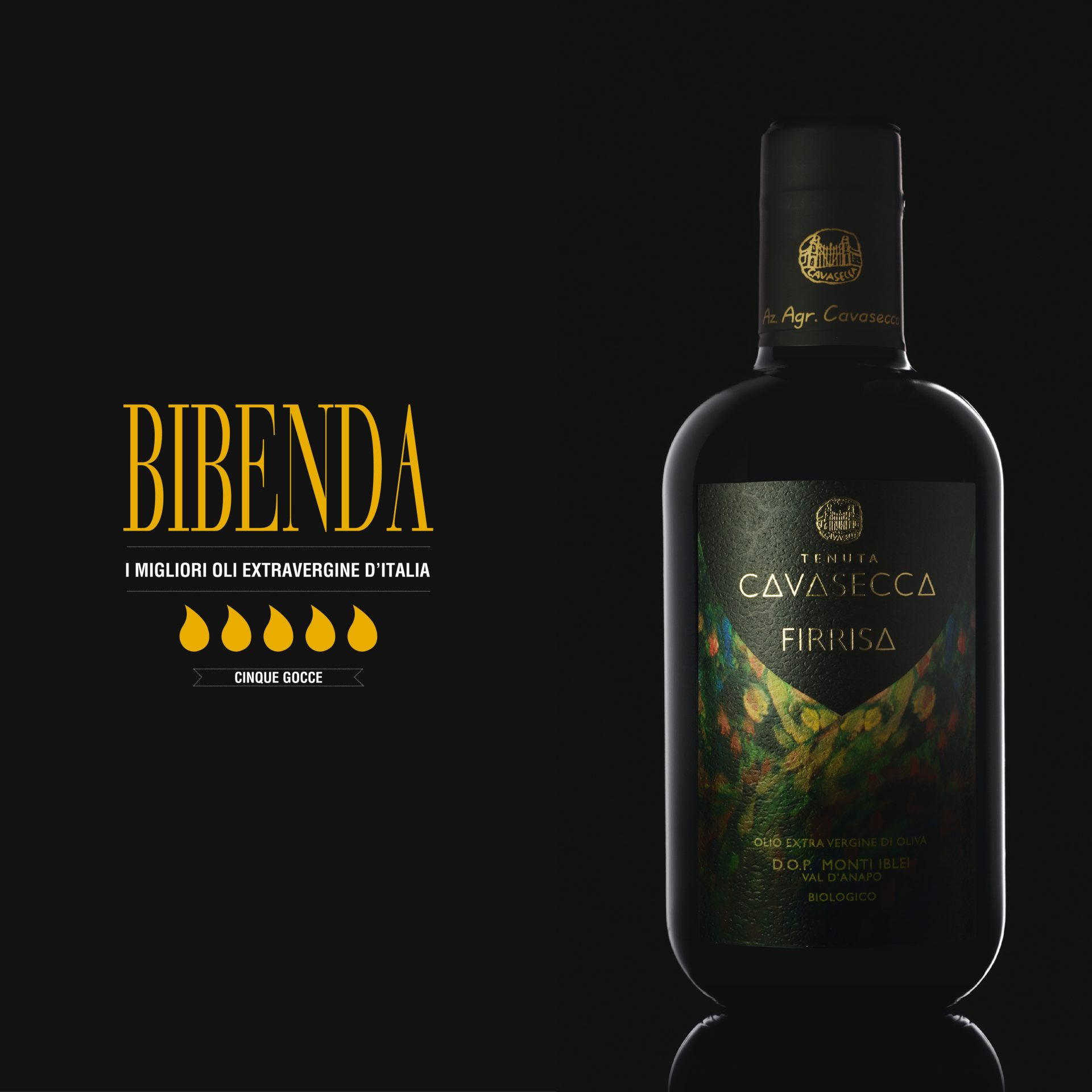 BIBENDA 2020: 5 gocce per Tenuta Cavasecca